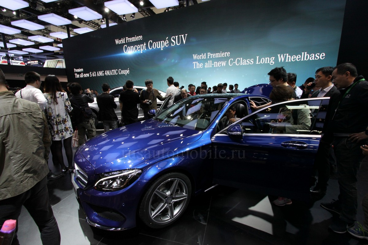 Mercedes long-wheelbase C-Class